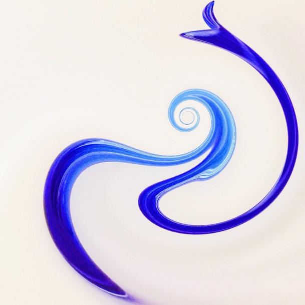 Blue Swirl.2 ©lisamariewaddell